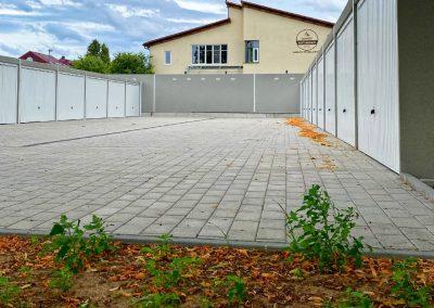 Garagenpark inkl. Bepflanzung